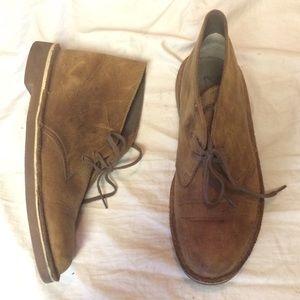 Clark's Chukka Desert Boots 7.5 Brown